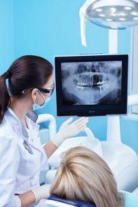 Odontoiatria estetica e panoramica dentale